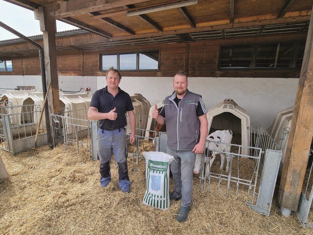 """Biomin® –  das neue """"2 in 1"""" – System für Milchtränke"""